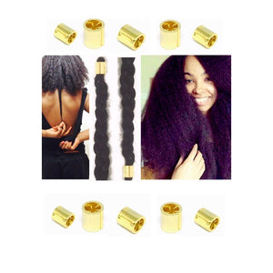 Natural hair stretching tool, heat free, chemical free, curl elongator.