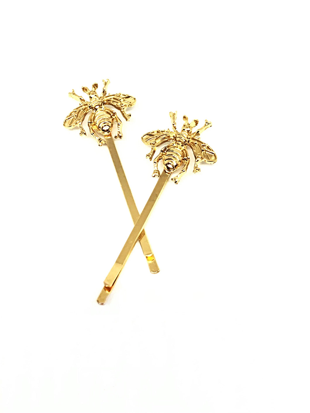 Golden Buzz Bee Hairpin 2 per set
