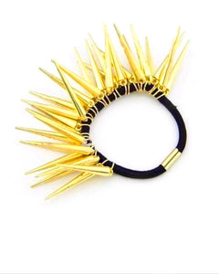 Golden Spiked Hairband