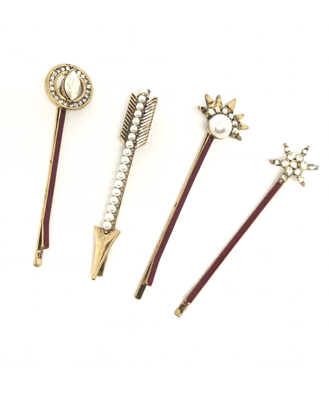 Arrow Flower Hairpin Set