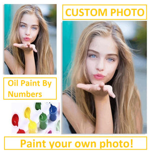 Paint YOUR picture | DIY Oil Paint by Numbers - Bambuce