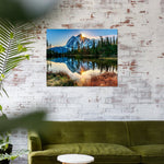 Tranquil mountain lake (40x50cm|16x20inch) | DIY Acrylic Paint by Number - Bambuce