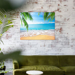 Perfect beach (40x50cm|16x20inch) | DIY Acrylic Paint by Number - Bambuce