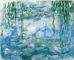 Claude Monet collection | 4 painting options | diy paint by numbers - Bambuce