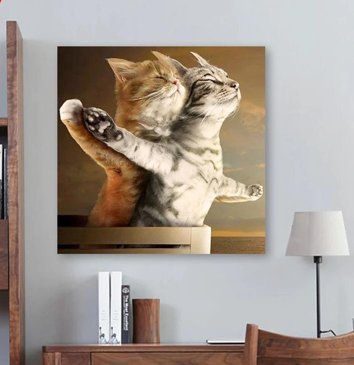 Titanic cats | DIY Paint by Numbers - Bambuce