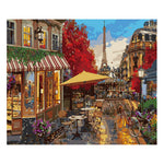 Paris boulangerie (40x50cm|16x20inch) | DIY Acrylic Paint by Number - Bambuce