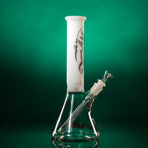 "MECHANICAL ABDUCTION. 12.5"" Beaker Water Pipe"