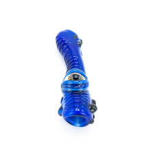 I Love Frank Glass Eyeball Chillum [Blue]