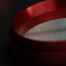'Brutal Pentagram' Aluminum Grinder [Blood Red]
