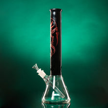 "ALIEN 15"" 7mm Beaker-White, Black or Clear top"
