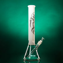 "15"" 7mm Beaker - Alien, White, Clear, or Black top"