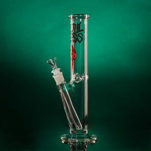 "12.5"" 45mm Straight Tube - Zombie - Clear"