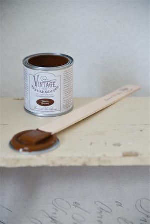 Vintage paint - Warm brown - 100 ml