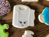 Toilet Paper Roll Cookie Cutter