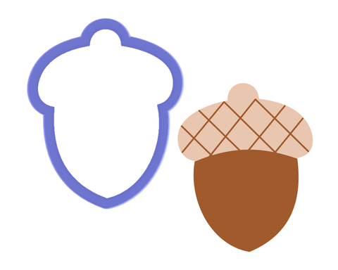 Acorn Cookie Cutter