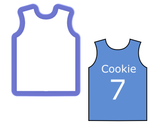 Basketball Jersey - Tank Top Cookie Cutter