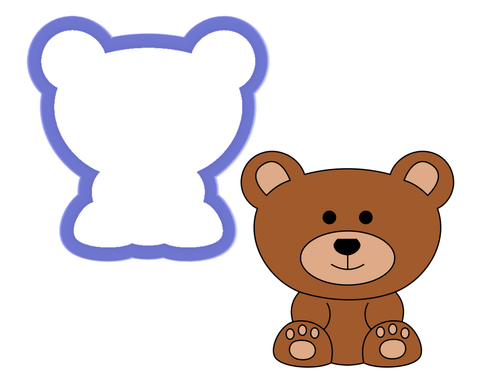 Bear Sitting Cookie Cutter