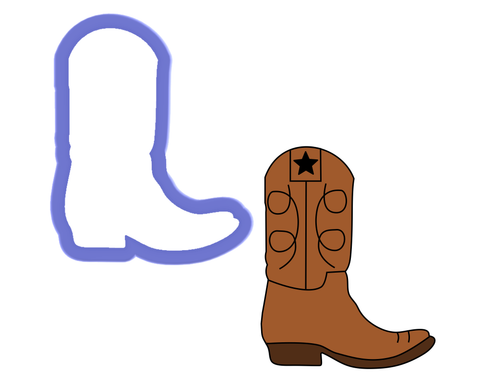 Boot Cookie Cutter