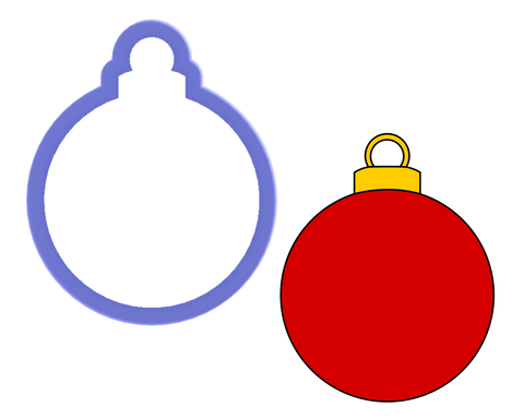 Christmas Bulb #1 Cookie Cutter