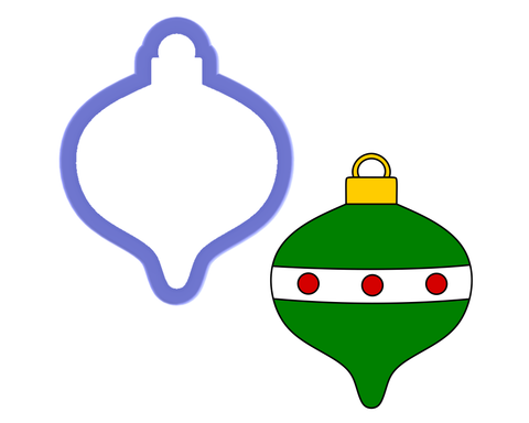 Christmas Bulb #2 Cookie Cutter