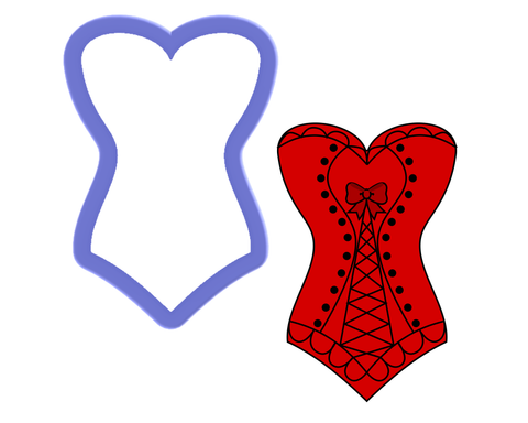 Corset Cookie Cutter