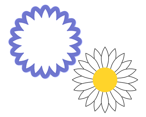 Daisy - Flower Cookie Cutter