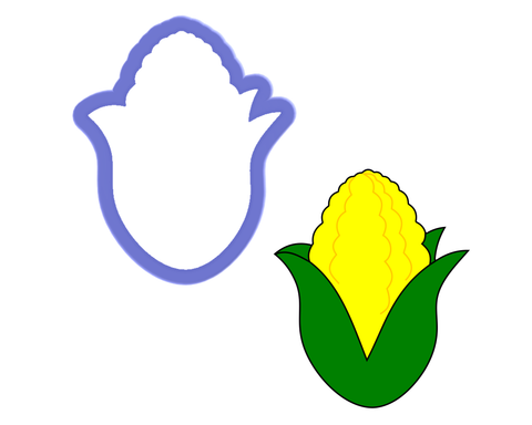 Ear of Corn Cookie Cutter