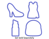 Cheerleader Uniform - Little Black Dress - Cookie Cutter