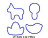 Burro Cookie Cutter
