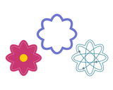 Flower - Atom Cookie Cutter