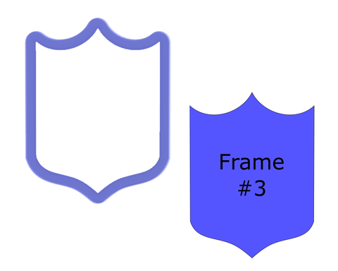 Frame #3 Cookie Cutter