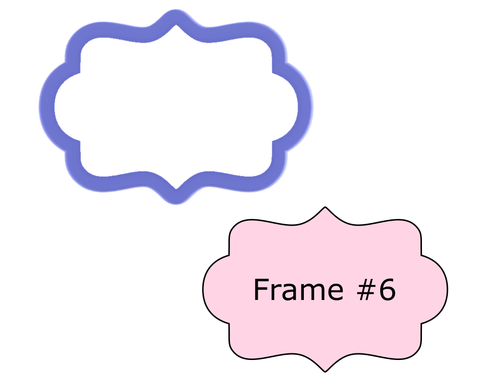 Frame #6 Cookie Cutter