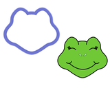 Frog Face Cookie Cutter