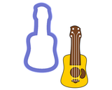Guitar - Ukulele - Cookie Cutter