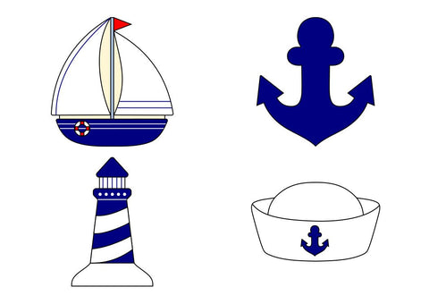 Nautical Cookie Cutter Set