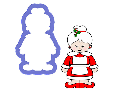 Mrs Claus Cookie Cutter