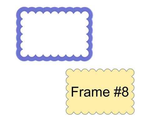 Frame #8 Cookie Cutter