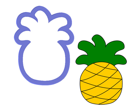 Pineapple #2 Cookie Cutter