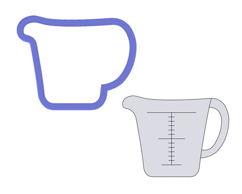 Measuring Cup Cookie Cutter