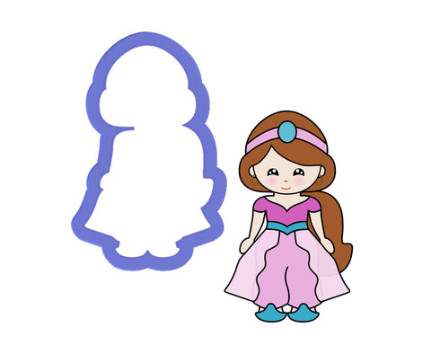 Princess #5 - Arabian Princess Cookie Cutter