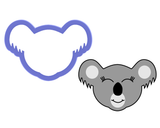 Koala Face Cookie Cutter