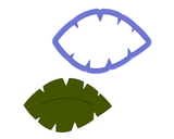 Leaf #4 - Jungle Leaf Cookie Cutter