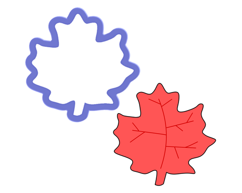 Leaf #5 Cookie Cutter