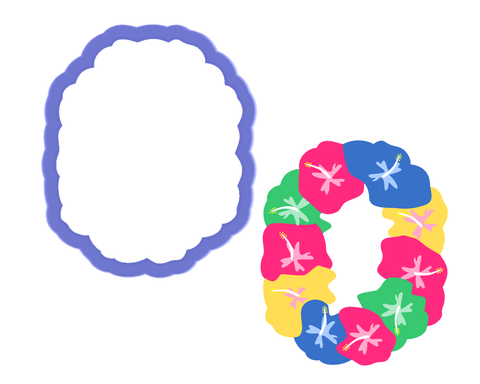 Lei Cookie Cutter