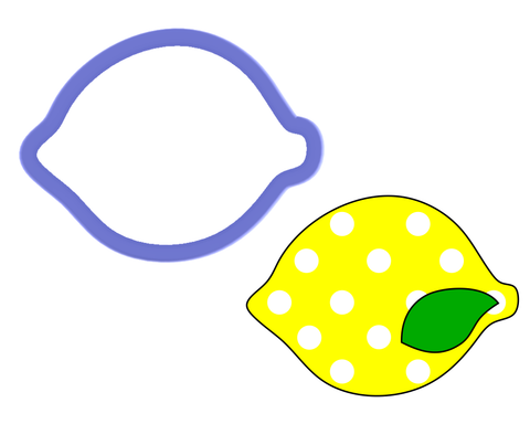 Lime - Lemon - Cookie Cutter