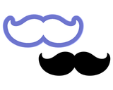 Moustache #2 Cookie Cutter