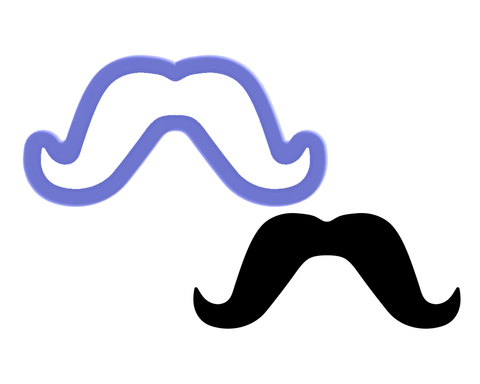 Moustache #3 Cookie Cutter