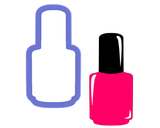 Nail Polish Bottle Cookie Cutter