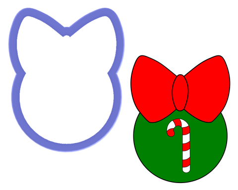 Ornament with Bow Cookie Cutter