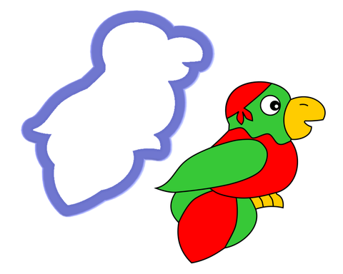 Parrot #2 Cookie Cutter